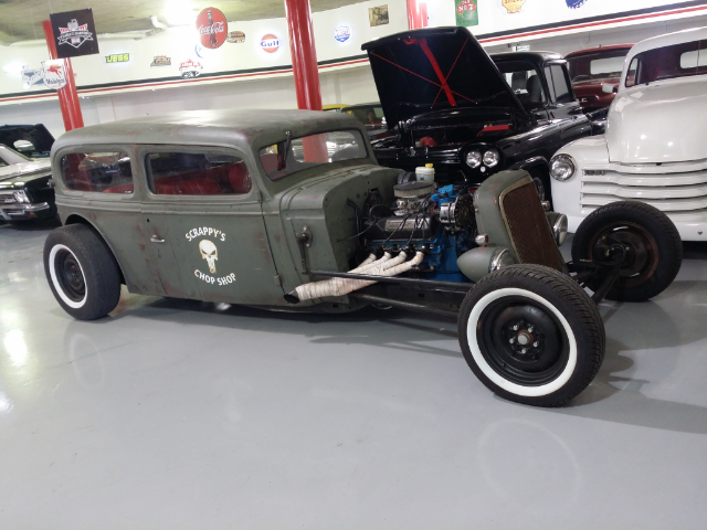 Epic Rat Rod Spotted In Muscle Car Shop Image 1