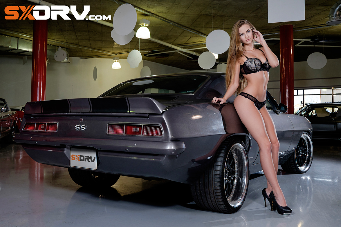 hot girls with muscle cars porn