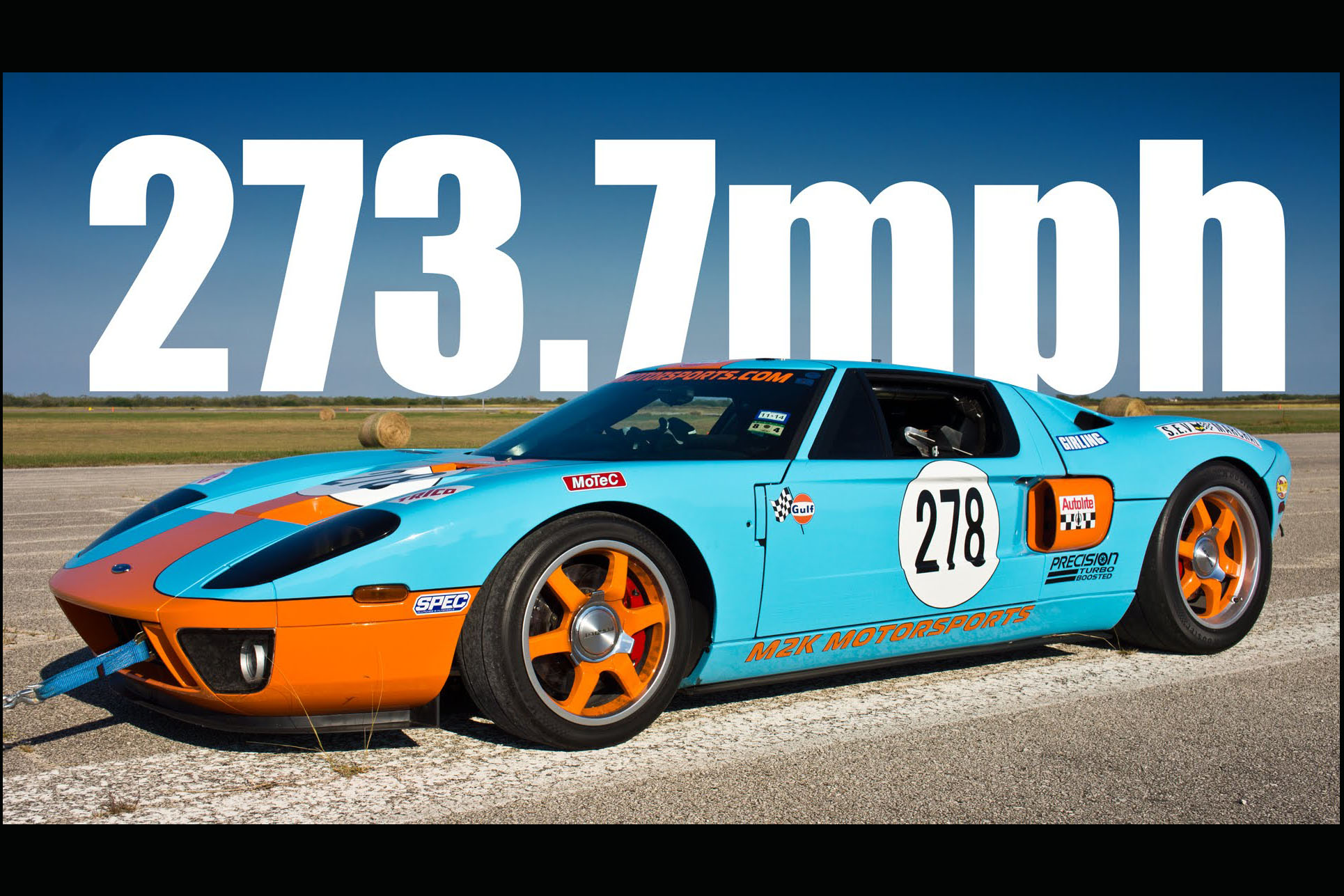 Video: This Ford GT does 273.7mph in a mile. Forget what you thought