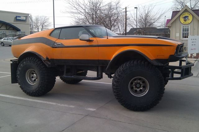 11 Normal Cars With Ridiculously Massive Wheels Image 7