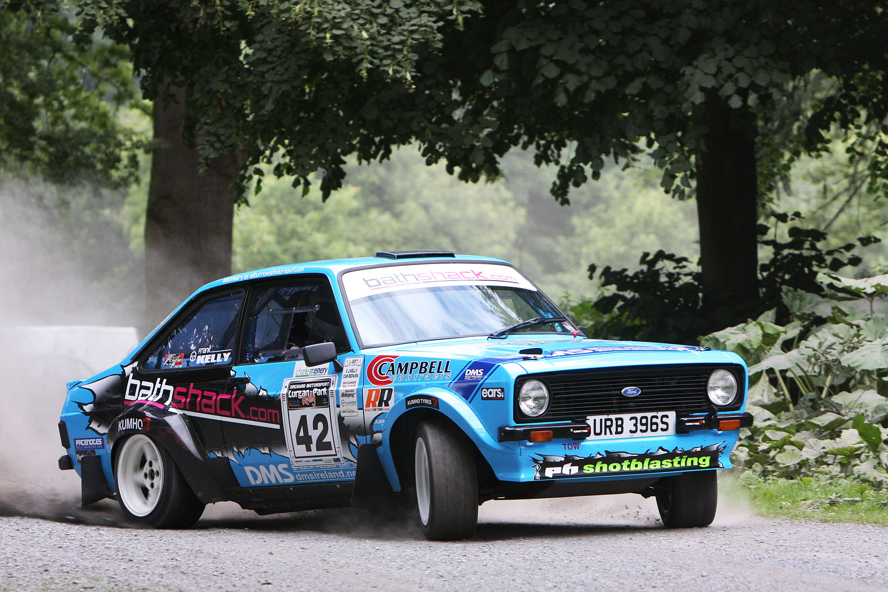 Video: Flatout, sideways and ludicrous, Frank Kelly is a master ...