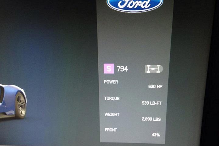 2016 Ford Gt Specs Revealed Via Forza Motorsport 6