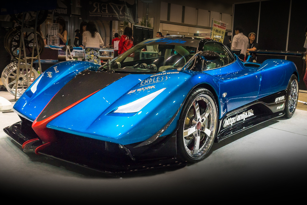 video: one of a kind pagani from japan image - 1