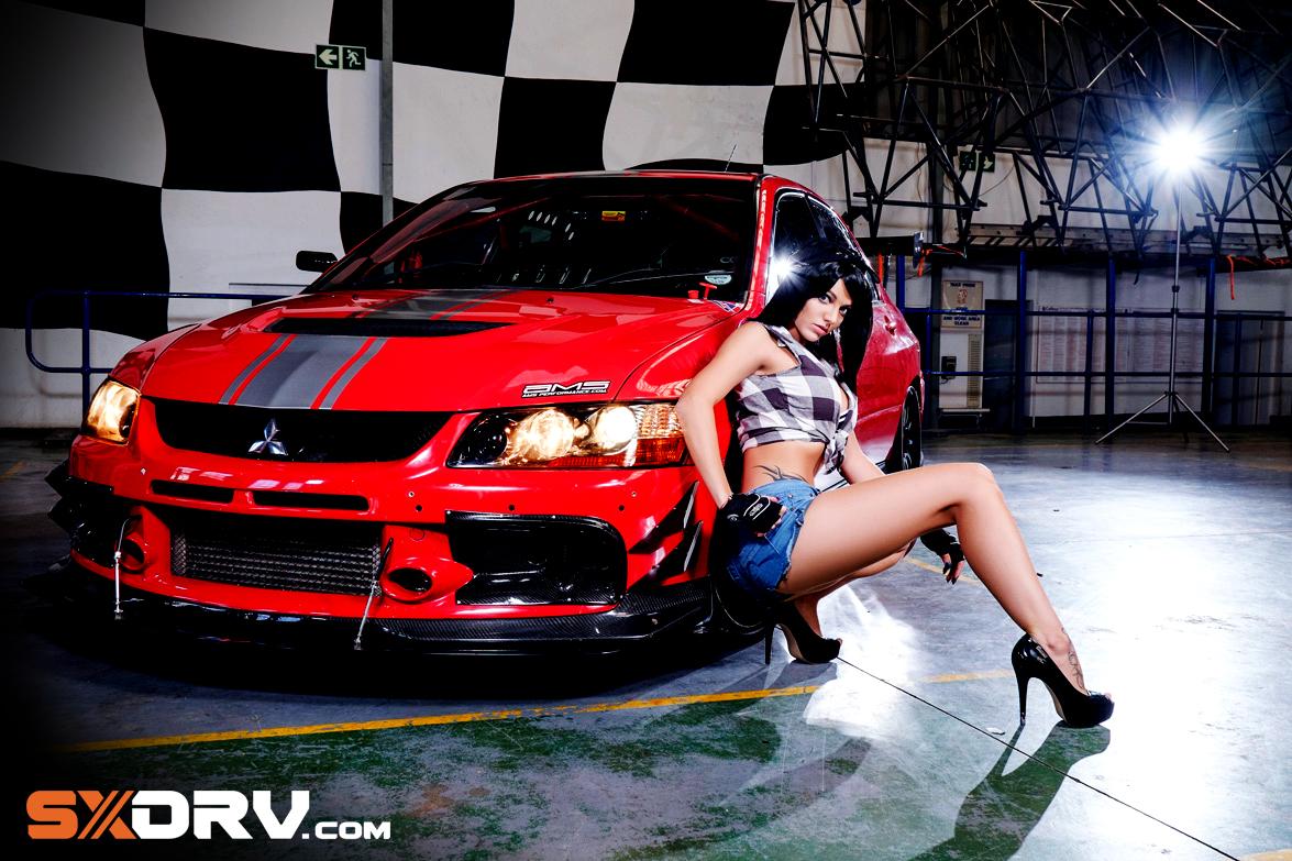 Angel Crystal Kriel - Mitsubishi Evo 9