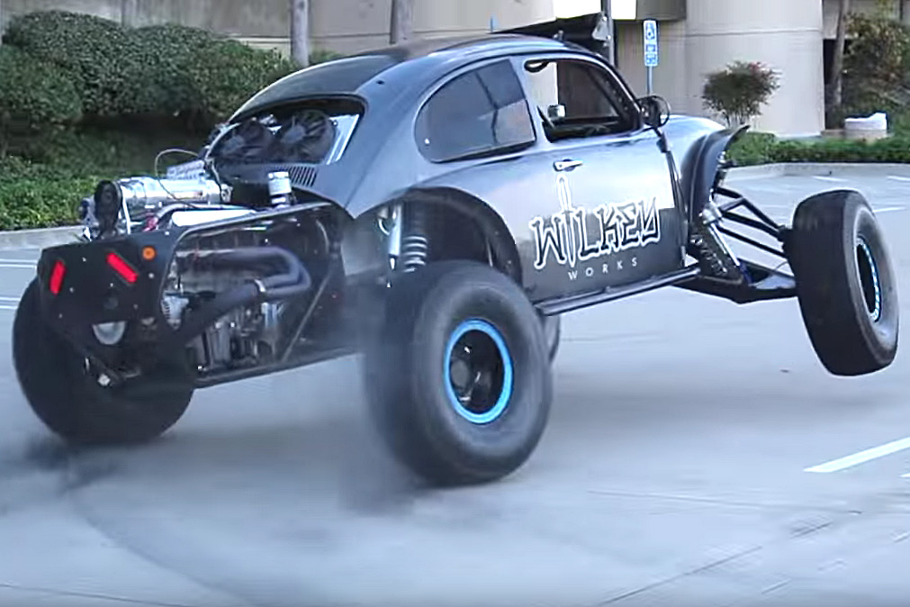 Video Urban Assault Tearing Up The Streets In A 800hp