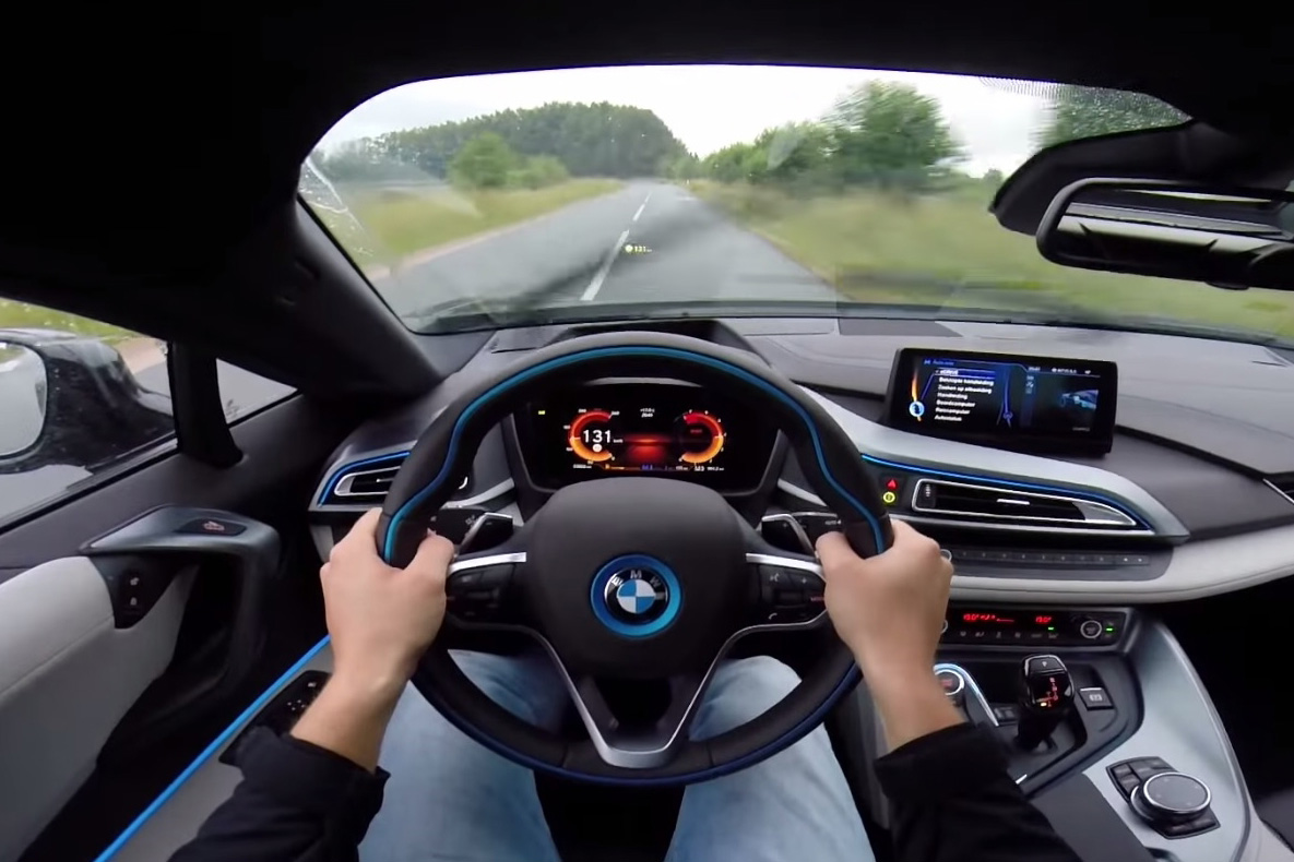 Video Pov Test Drive With The Bmw I8 Puts You In The Drivers Seat