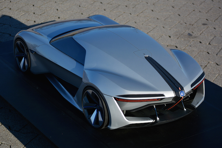 stunning volkswagen sports car concept shows us the future! image - 2