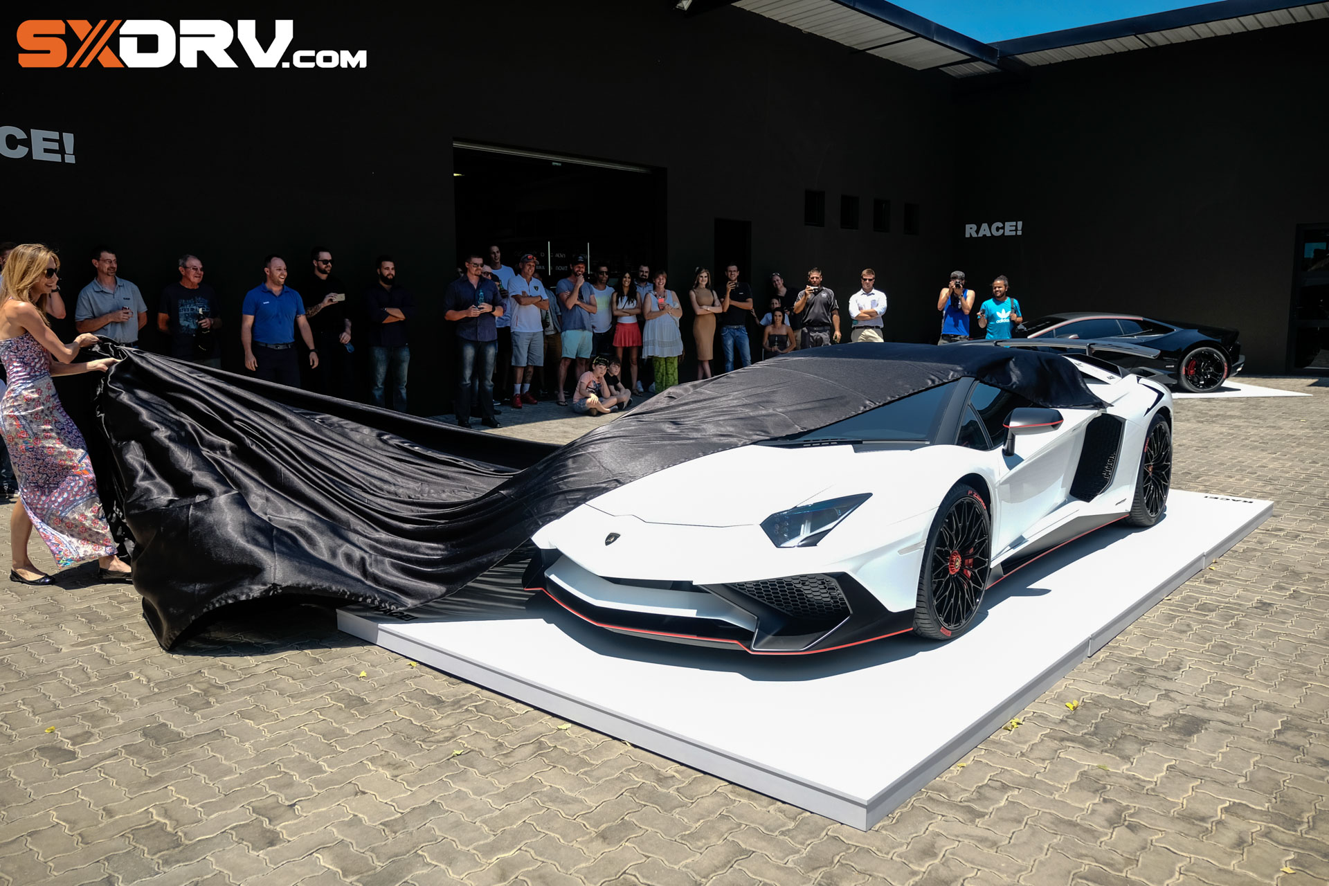 First Customised Aventador Sv In The World With Armytrix Exhaust
