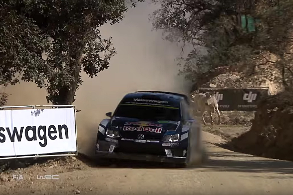 Video: WRC champion Sebastien Ogier shows mad skills, when he has to ...