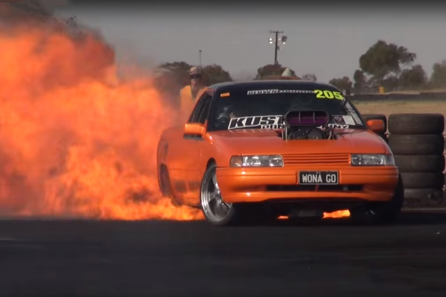 Video Why Do Burnout Cars Keep Catching Fire Let S Find Out