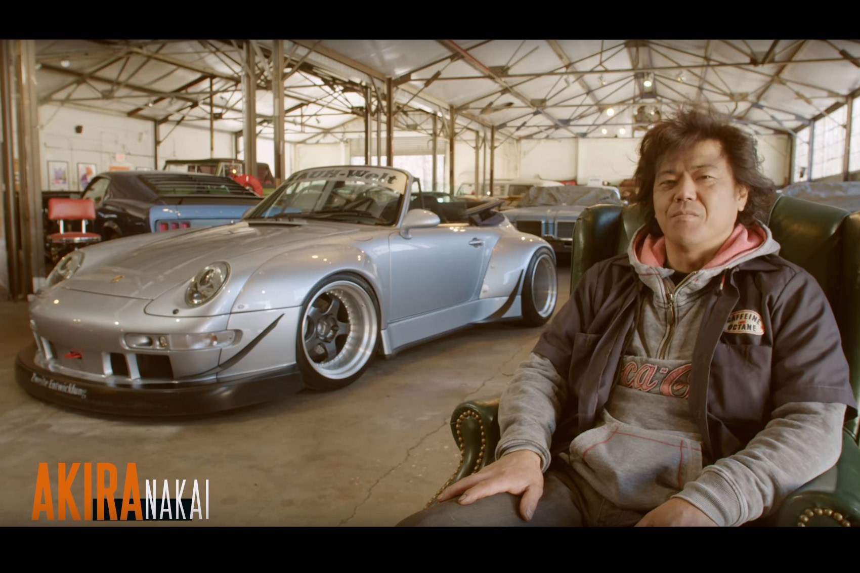 Video Nakai San From Rwb Shows Off His Newest Widebody