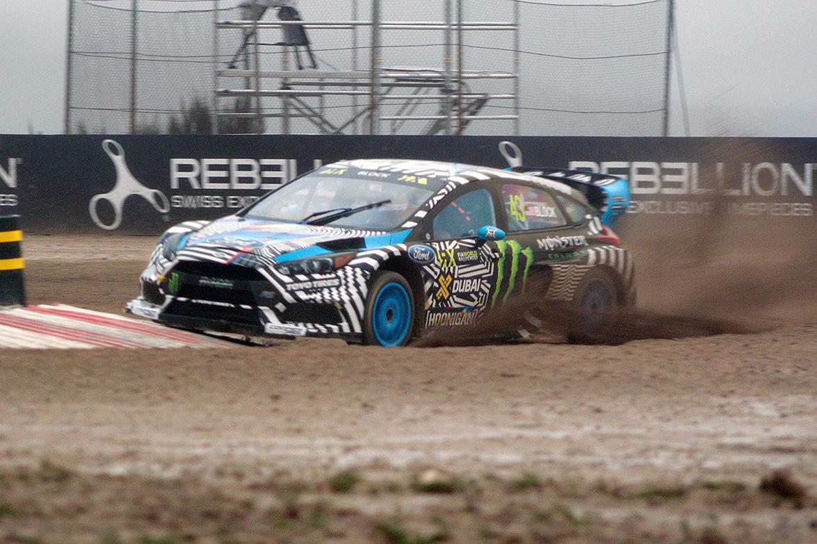 Ken Block Ford Focus Rs Rx Rallycross Monster Energy World