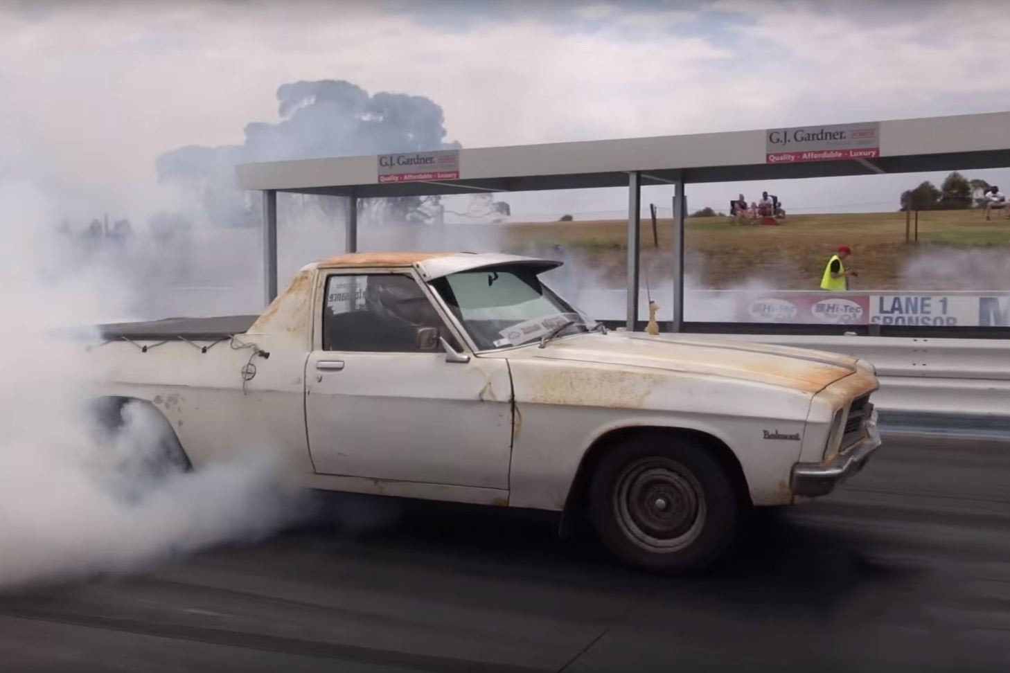 Video: This old broken looking turbocharged farmtruck is the ...