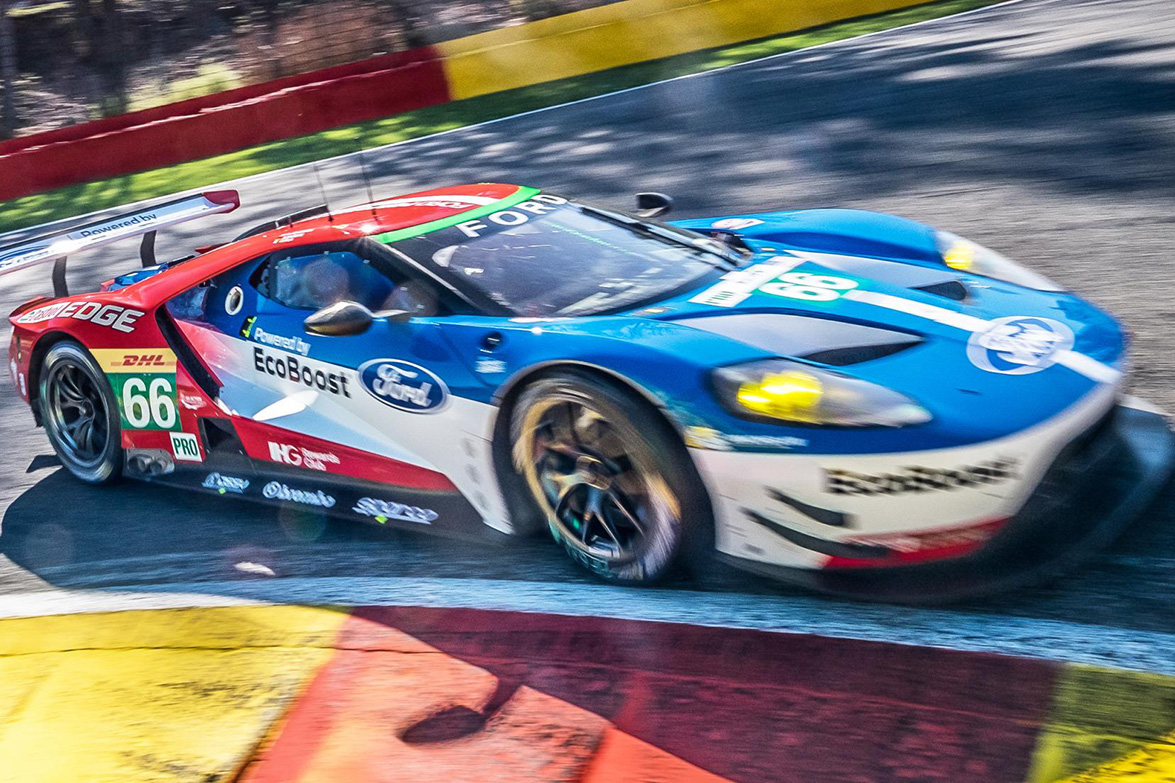 Video A New Ford Gt Racecar Crashed At Spas Eau Rouge Corner And Its Painful To Watch