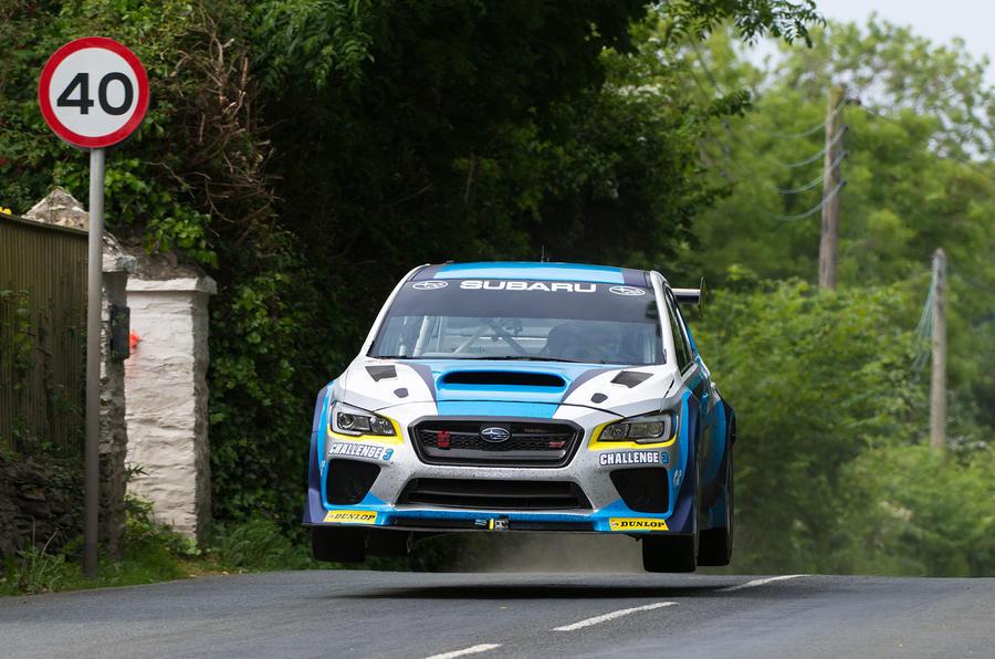 Video: Modified Subaru WRX STI smashes Isle of Man TT lap record 1