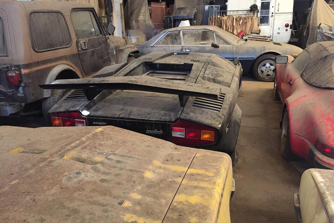 Ridiculously Good Barn Find Discovered with Lamborghini Countachs ...