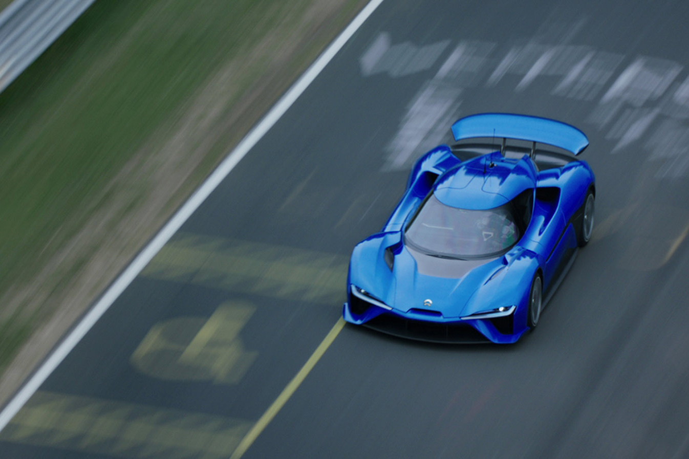 Video The NIO EP Is A Blistering Fast Kph FourWheelDrive - Hyper fast cars
