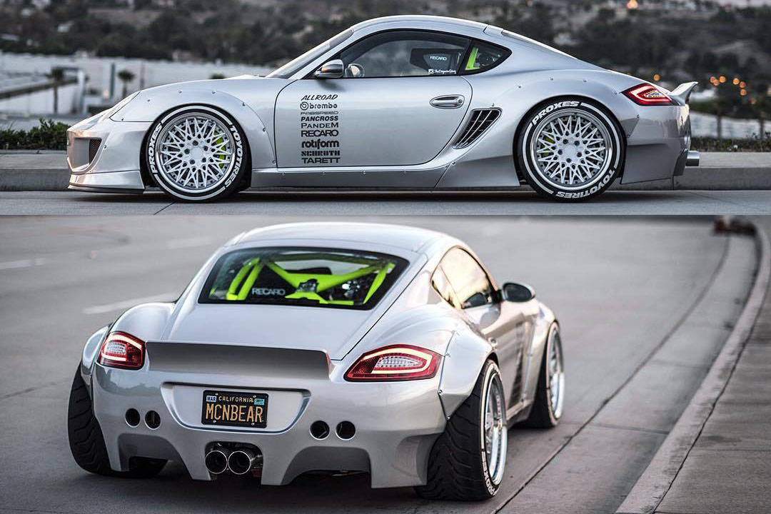 Video: This IS the most badass Porsche Cayman S ever!