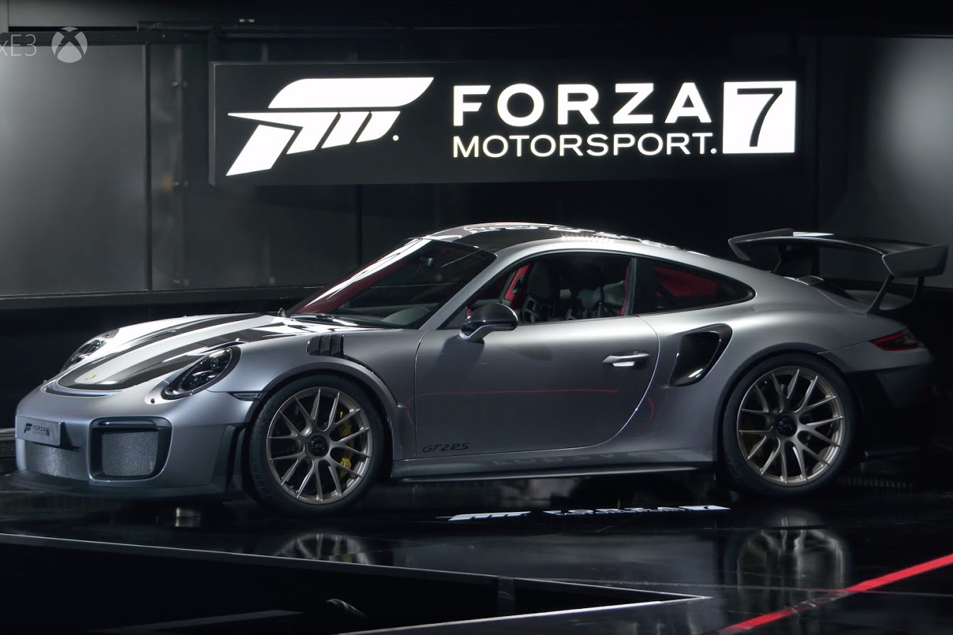 video forza motorsport 7 reveals the new porsche 911 gt2 rs. Black Bedroom Furniture Sets. Home Design Ideas