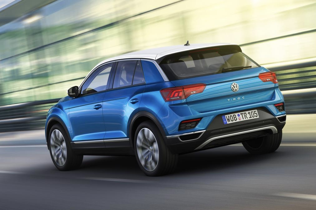 video the new volkswagen t roc suv revealed. Black Bedroom Furniture Sets. Home Design Ideas