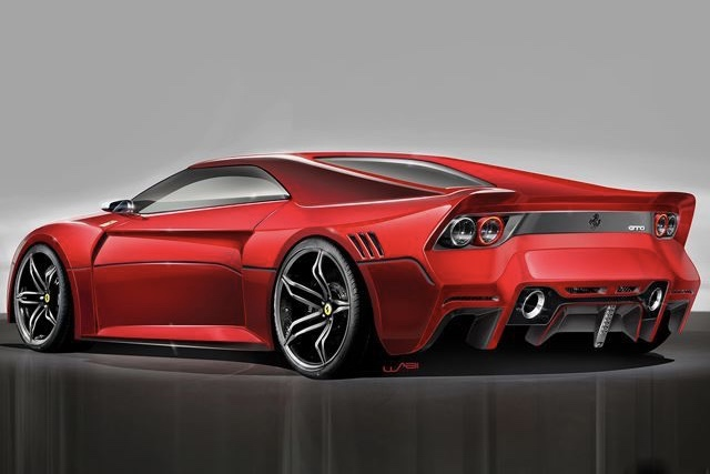 Video Check Out This Modernday Ferrari GTO Its Seriously Cool - Cool modern cars