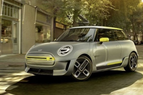 Video Bmw Reveals The Mini Electric Car Design Image 1