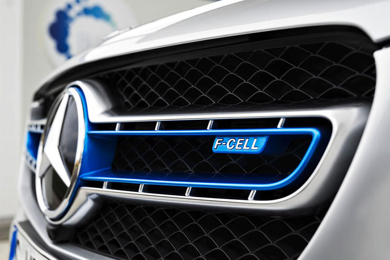 The Mercedes Glc F-cell
