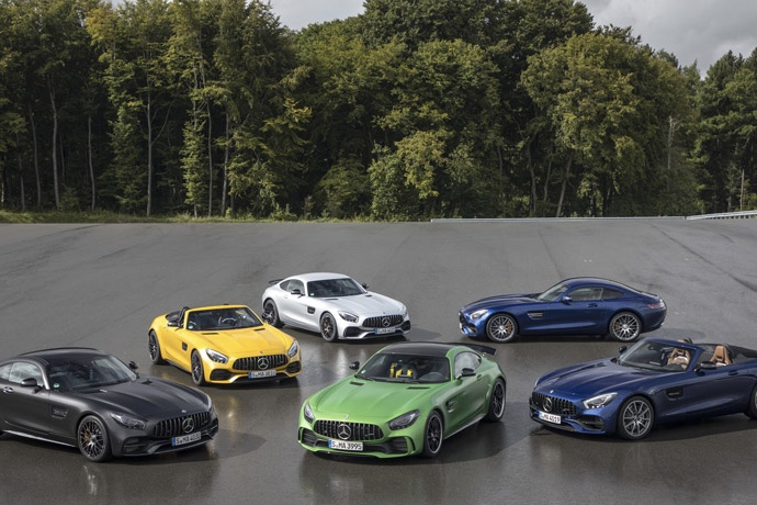 Mercedes-AMG celebrates 50 years of AMG 1