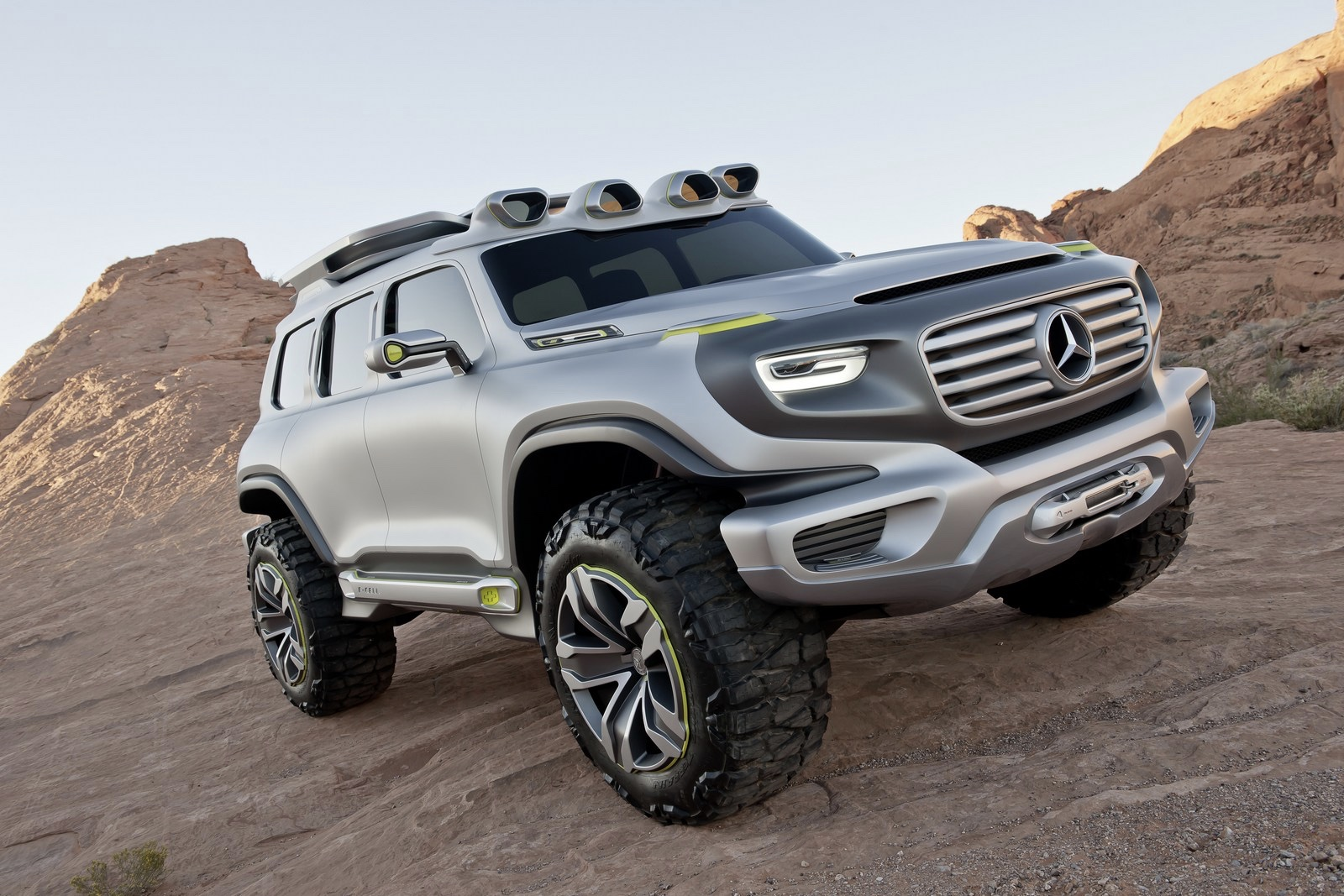 Mercedes GLB, which is under construction, will arrive in 2019! 1