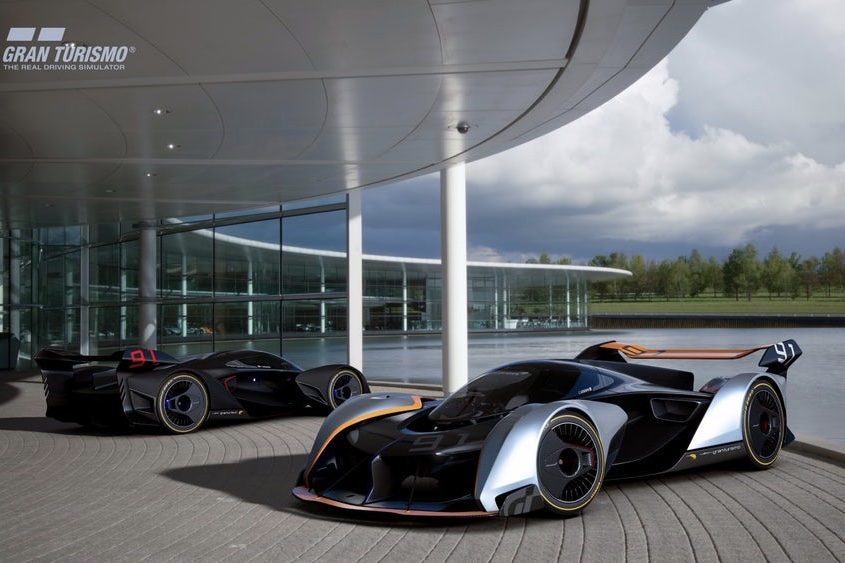 The ultimate vision for Gran Turismo by McLaren 1