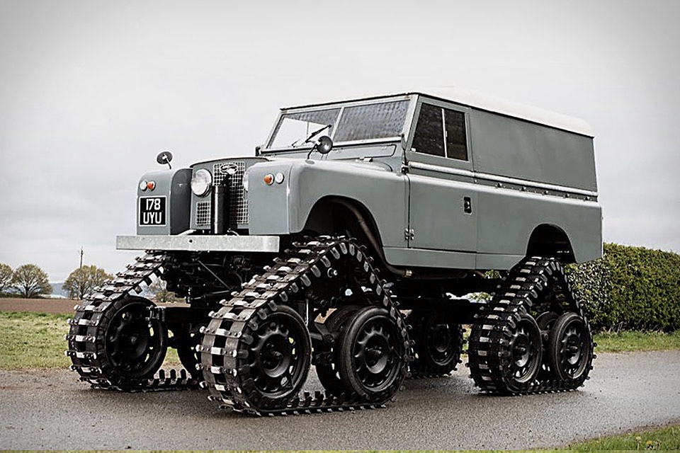 Video: 1958 Land Rover 109 Series II gets a makeover!! 1