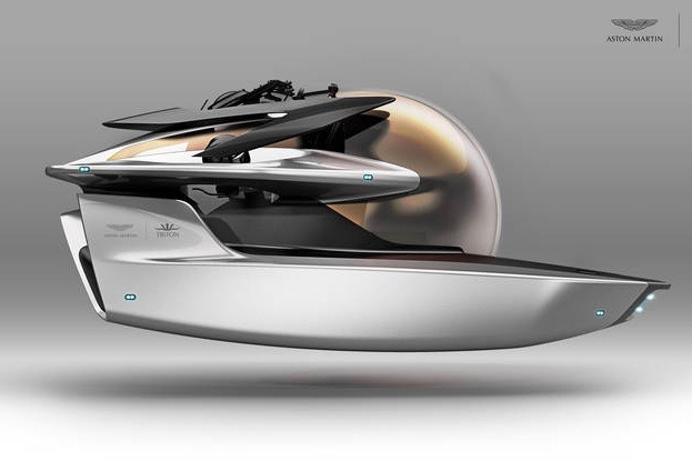 The Aston Martin Project Neptune Luxury... Er... Submarine? 1
