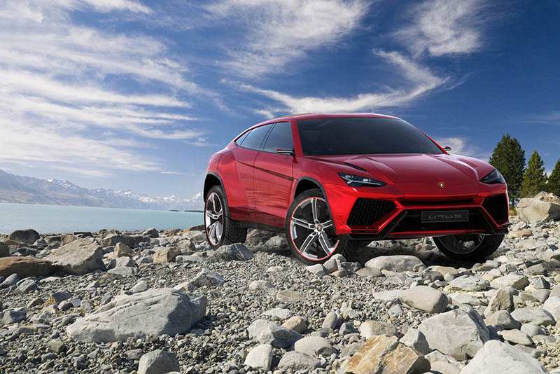SPOTTED: The New Lamborghini Urus – 600bhp + SUV Testing in Nottingham 1