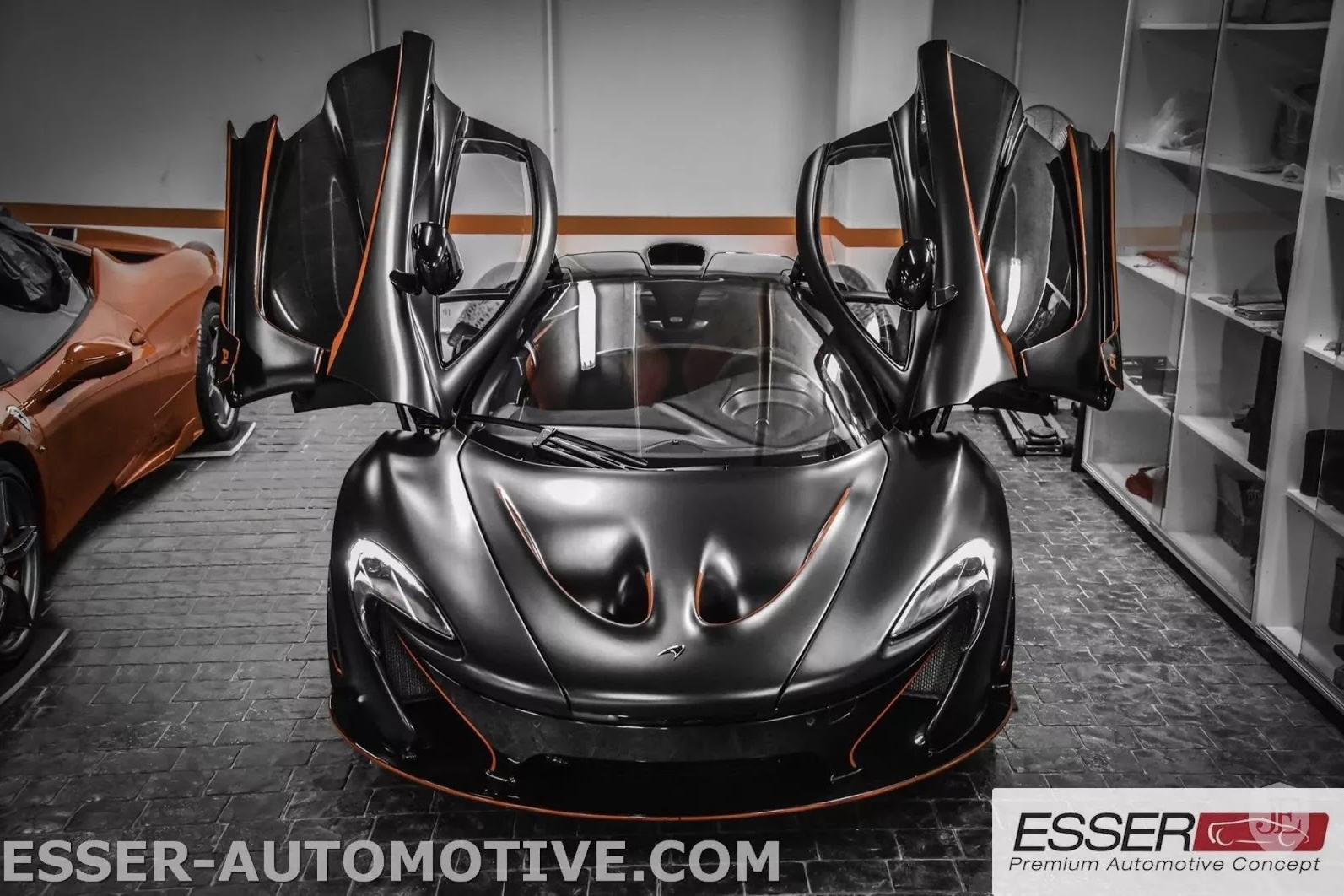 This Matte Black Mclaren P1 Mso Is Unlike Any Other 1