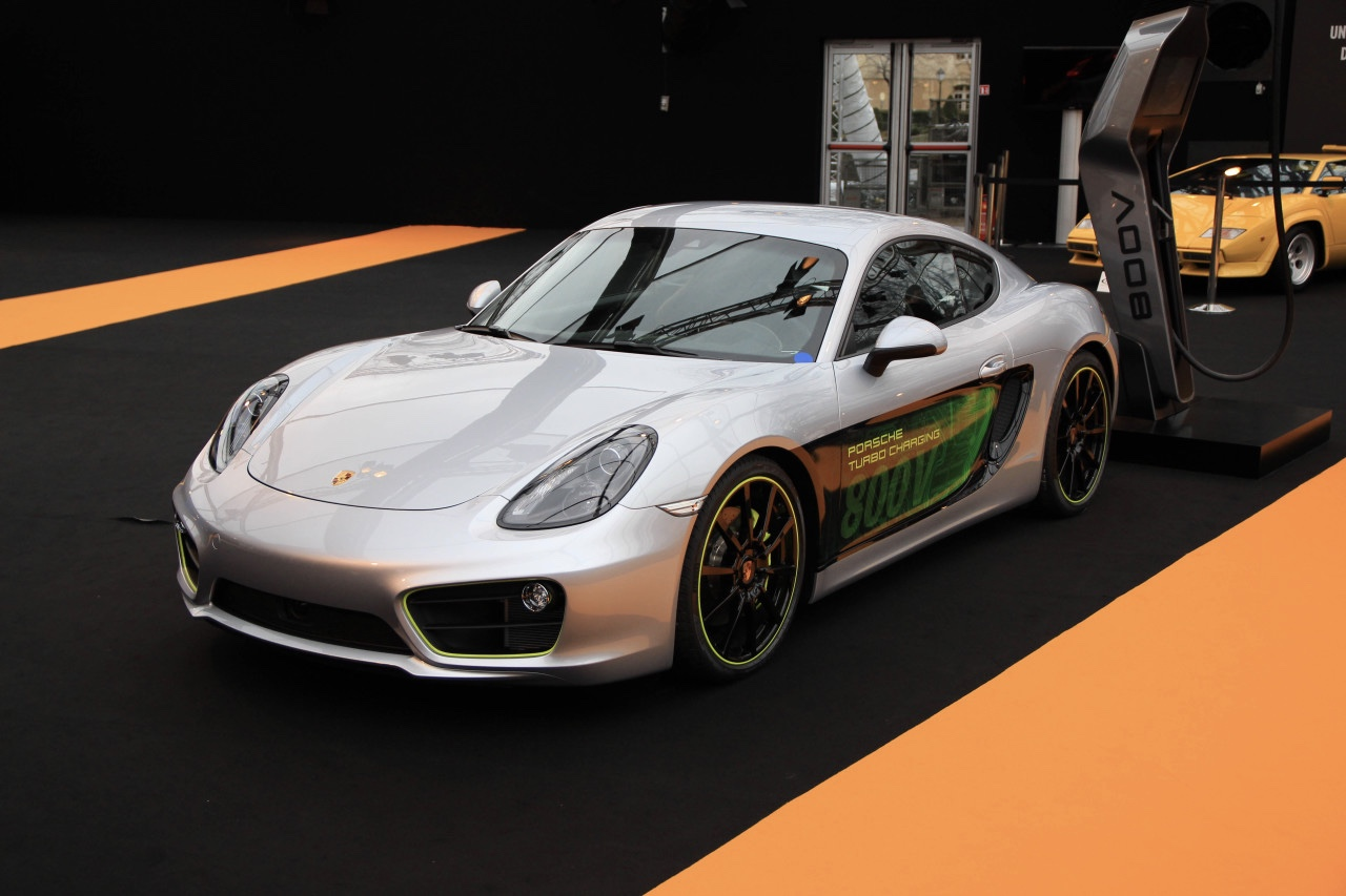 Porsche Unveiled The New Caymen E-volution 1