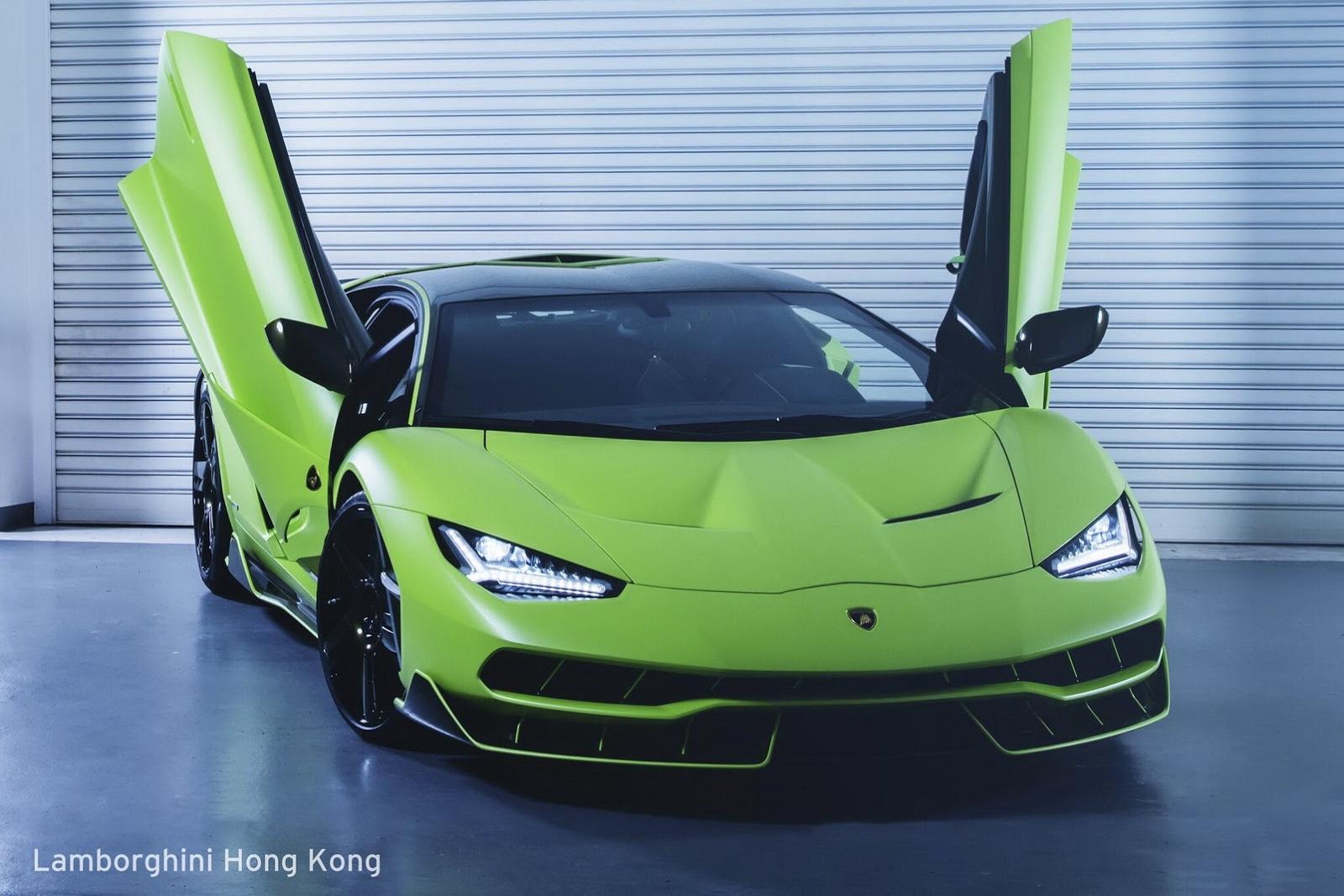 This Bright Green Verde Bronte Lamborghini Is Just Wow! 1
