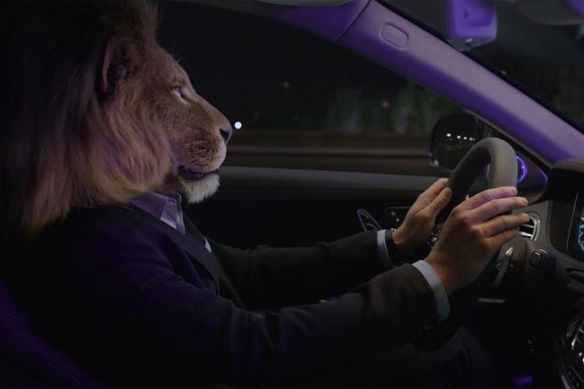 Spoonfeedz, Mercedes-Benz, CGI, Viral, Entertainment, Mercedes, Lion,S-Class,