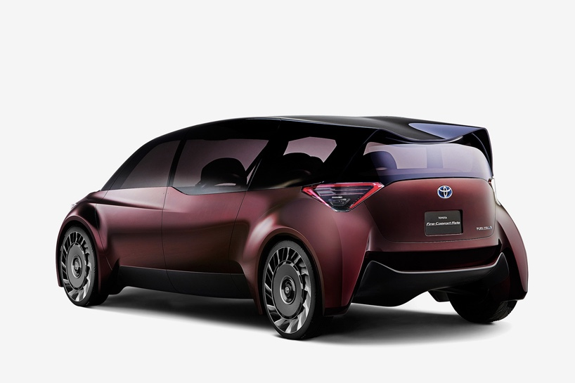 Toyota presented a new car concept at the Tokyo Motor show 2017 1