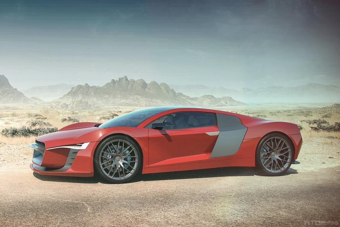 SXdrv, Cars, Automotive, Audi, Audi ATOM, Rendering,Concepts,