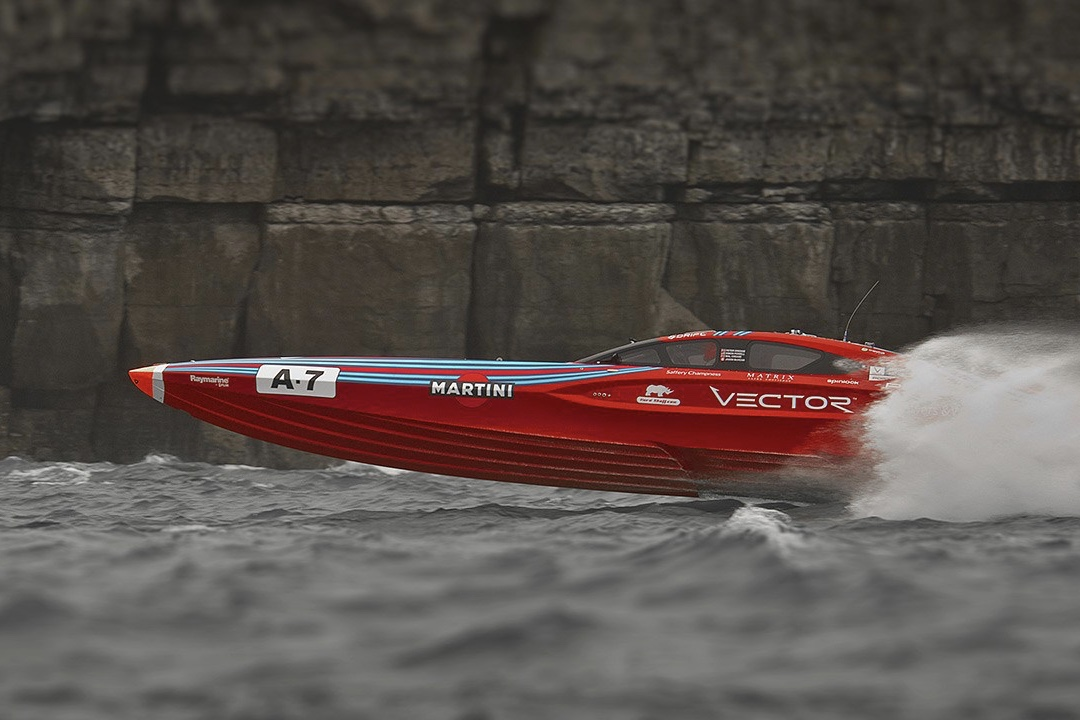 Jaguar Hits The Open Water With Vector Racing 1
