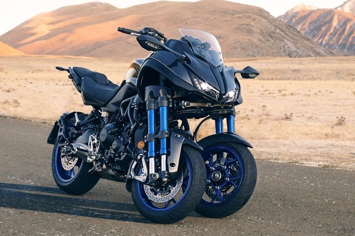 Video: A High-performance Three-wheeled Scooter 1