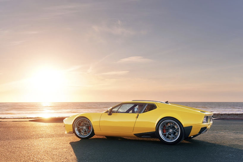 Video: A redefined Italian classic, The De Tomaso Pantera ADRNLN 1