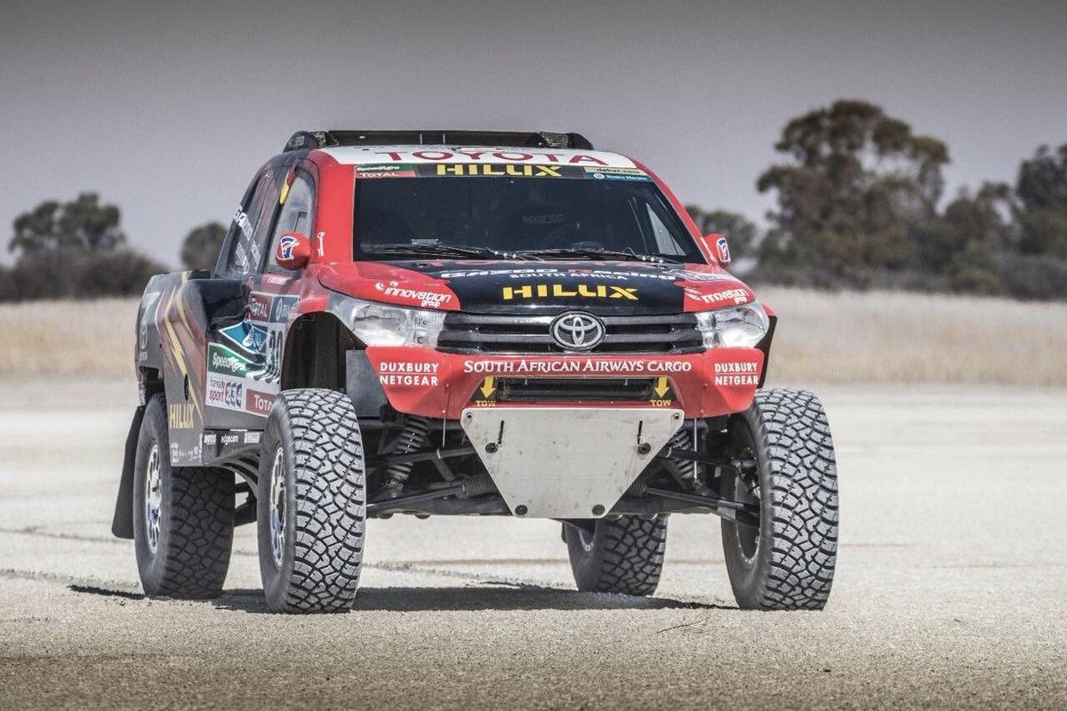 SXDRV,Cars,Dakar,Toyota,Hilux,2018,Glyn Hall,