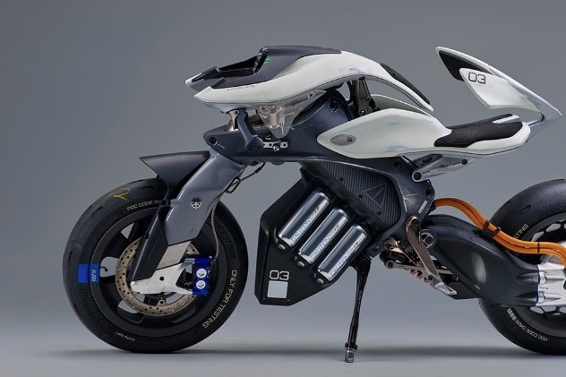 Video: Yamaha All-electric, Semi-autonomous Motor, The Motoroid 1