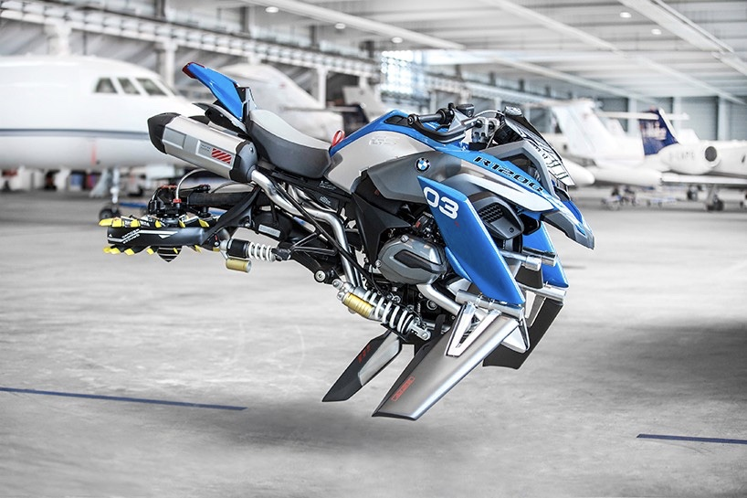 The Bmw Hover Bike Just Went From Lego To Life Sized, It Looks So Fly! 1