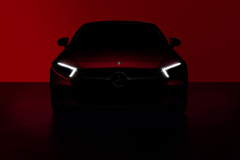 2018 Mercedes-benz Cls Official Teasers 1