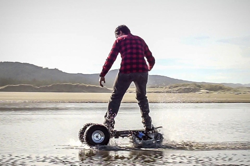 Video: The Ultimate 4x4 Skateboard 1