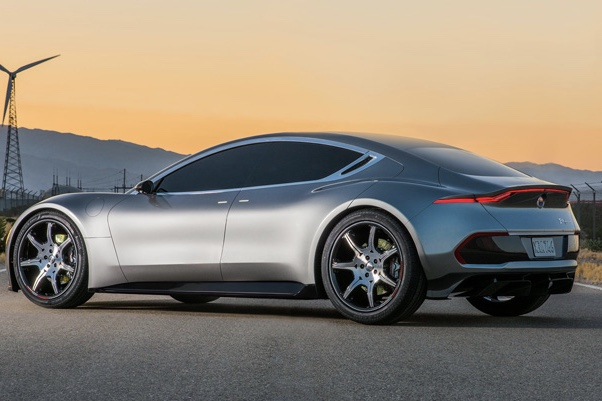 Fisker car company patents a new battery, charged in one minute! 1