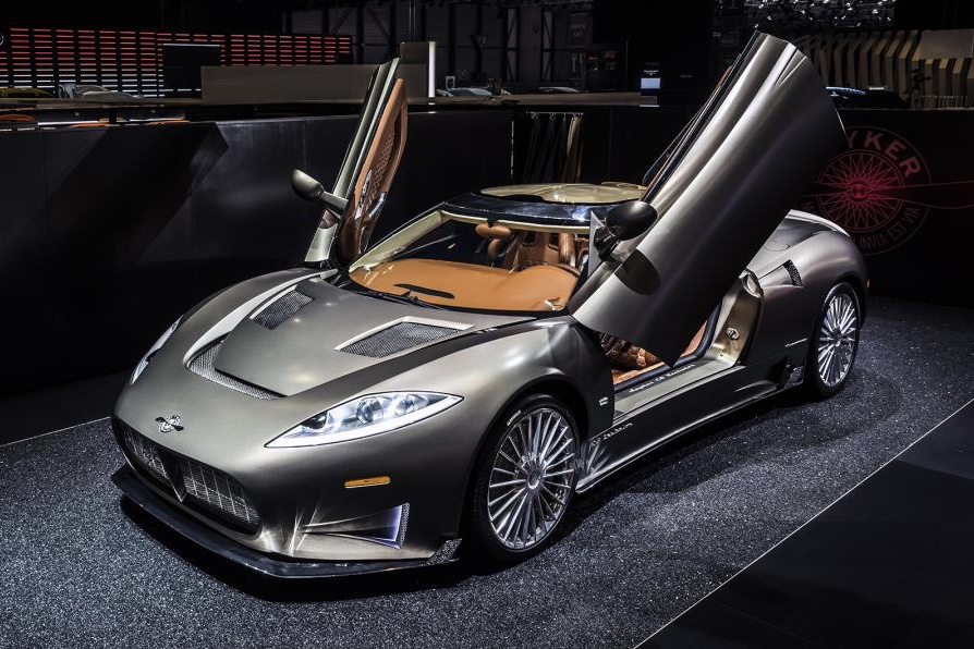 Top 6 sports cars released in 2017 5