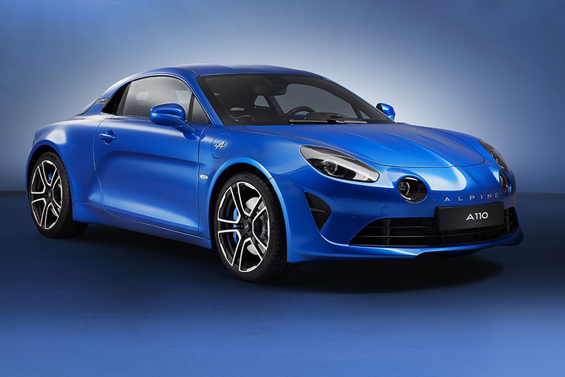 exhaust and ESC system, steering,dual-clutch gearbox,revised ,uprated engine,sxdrv,Renault,1.8-litre,new model 2018,300bhp,Alpine A110 Sport,